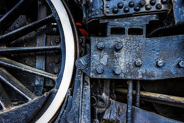 Black Photograph - Wheel In Black II by Jae Mishra