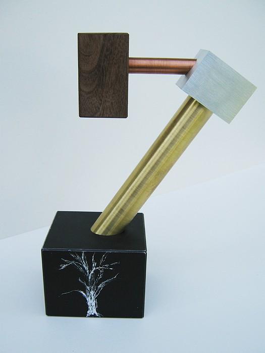 Sculpture Mixed Media - When A Tree Dreams by Tony Murray