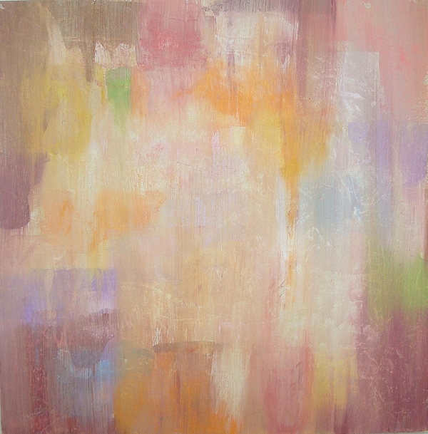Neutral Painting - Whimsical by Ora Birenbaum