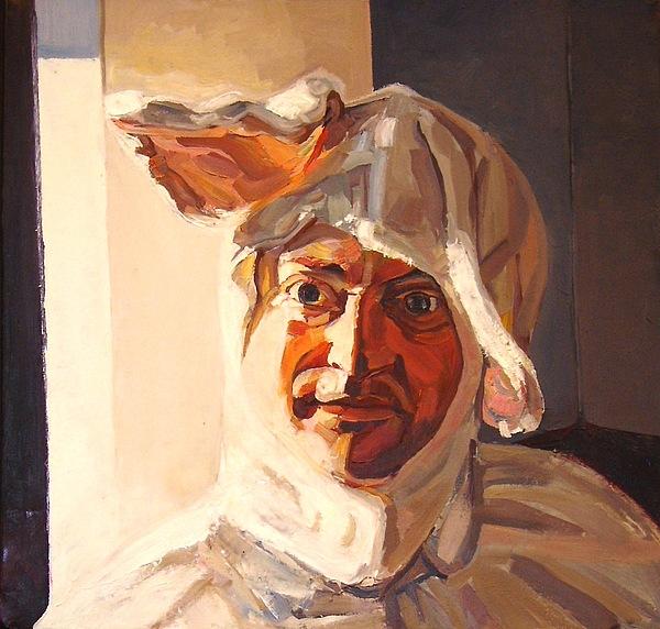 Heimdal Painting - White Rabbit by Tim  Heimdal