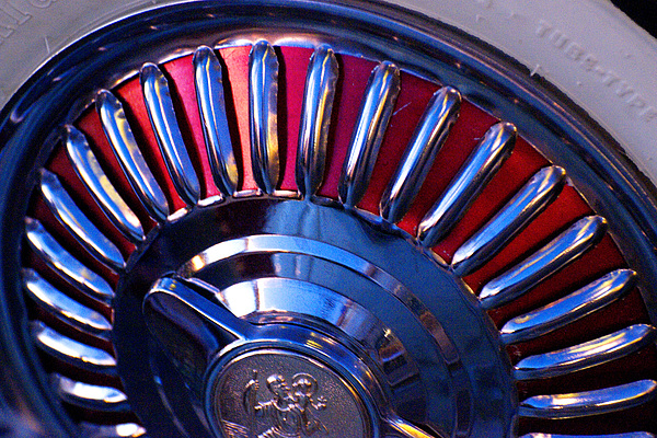 Whitewall Tire Photograph - Whitewall Roulette by Richard Henne