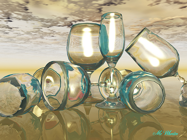 3d Painting - Chardonnay by Williem McWhorter