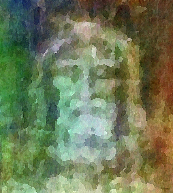 Faith Digital Art - Who Do Men Say That I Am - The Shroud by Glenn McCarthy Art and Photography