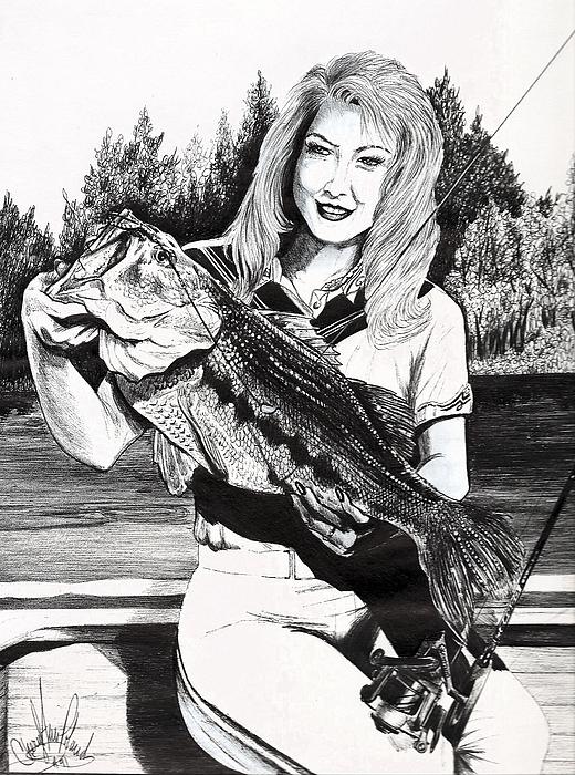 Cheryl Poland - Who says Women cant fish