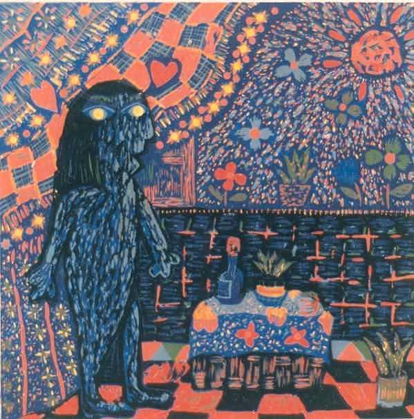 Who That Girl 2 Print by Ekapon Poungpava