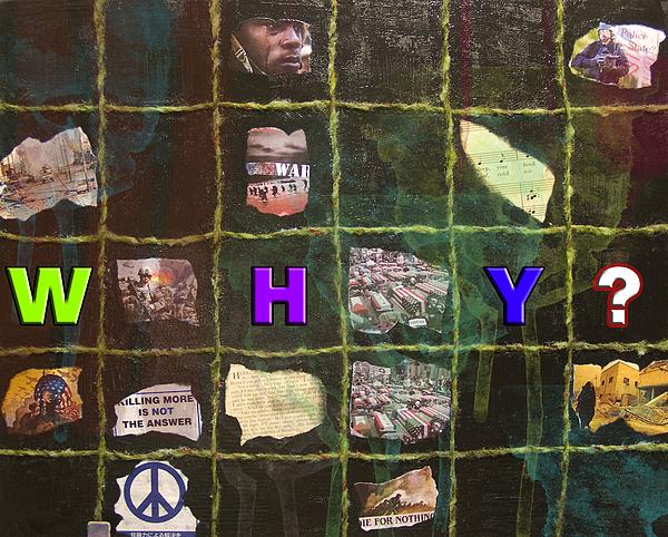 Collage Digital Art - Why by Heike Braxton