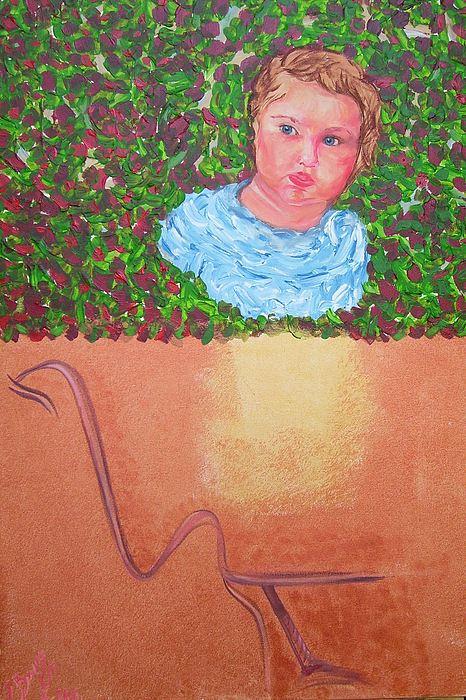 Mixed Media Painting - Why They Love Us by Svetlana Vinokurtsev