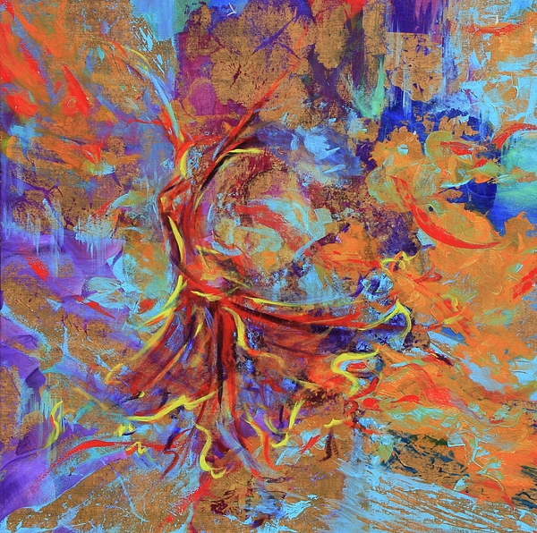 Dancer Painting - Wild Dancer by Sabra Chili