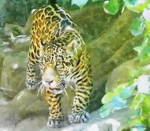 Wild Painting - Wild In Spirit by Jeffrey Kolker