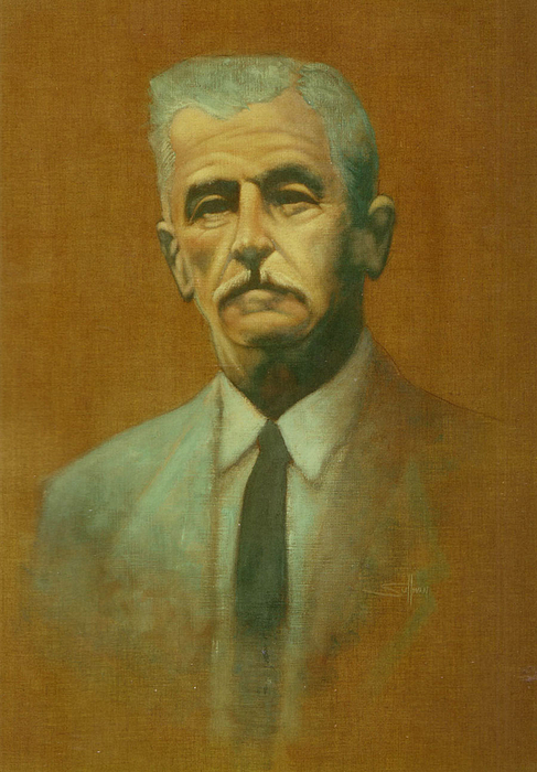 Famous People Painting - William Faulkner by Steven Sullivan