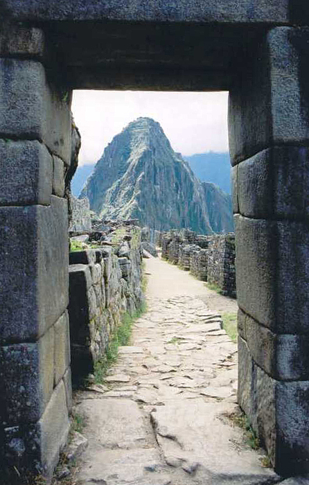 Peru Photograph - Winay Picchu by Kathy Schumann