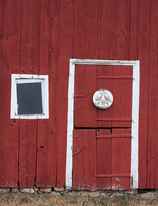 Hopewell Photograph - Window And Door by Robert Sander