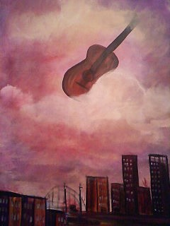 Inspiring Painting - Windsom Times Of Jazz by Patricia Carter-Mitchell