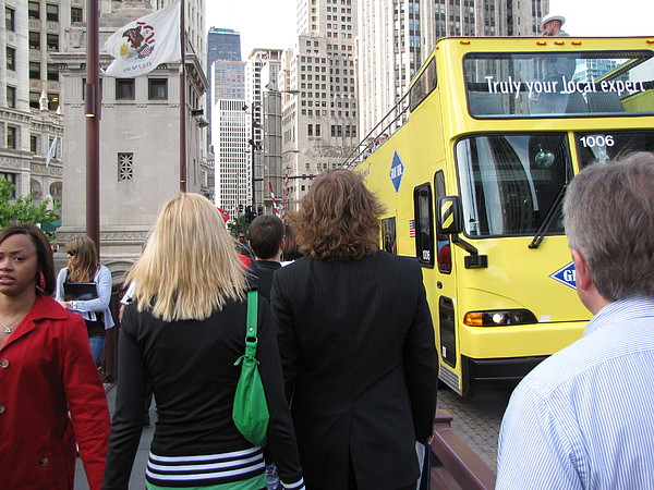 Big City Photograph - Windy City Walkabout by Sylvia Wanty