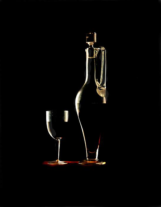 Still Life Wine Photograph - Wine by Jon Daly