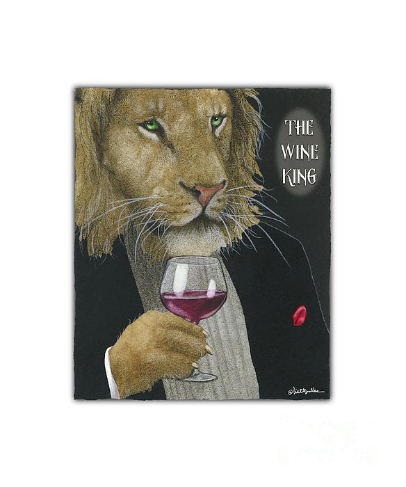 Will Bullas Painting - Wine King... by Will Bullas