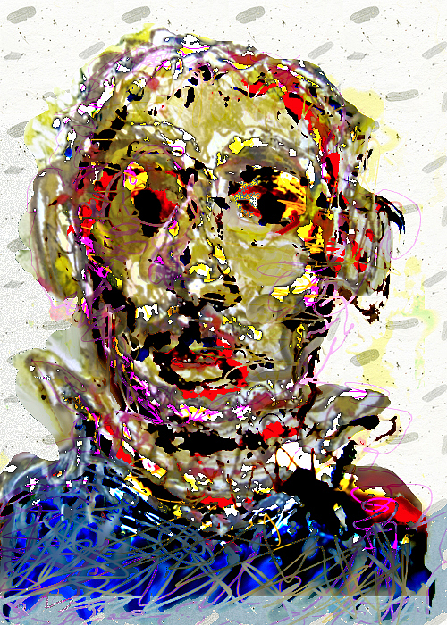 Winter 2008 Painting by Noredin Morgan