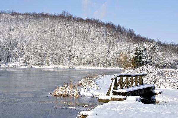 Cowen Photograph - Winter Lake by Thomas R Fletcher