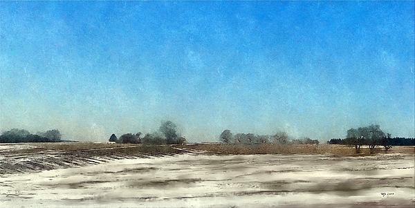 Winter Landscape Digital Art - Winter Landscape 3 by Wolfgang Schweizer