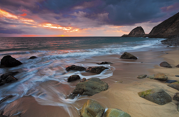 Beaches Photograph - Winter Storms Approach by Greg Clure