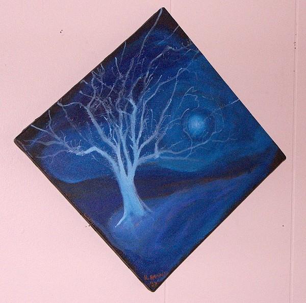 Landscape Painting - Winter Tree II - Jason by Roy Randell