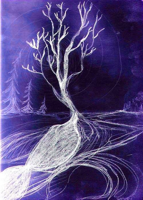 Winter Print - Winter Tree by Roy Randell