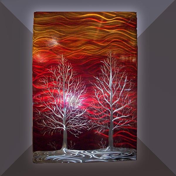 Trees Sculpture - Winter Trees by Jason  Krob