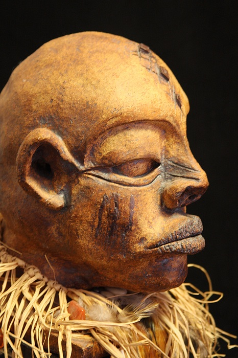 Witch Doctor Art You Sculpture by Pamella Brooks