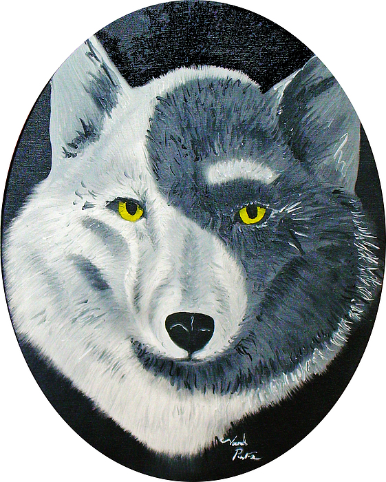 Perspective Painting - Wolfs Perspective by Joseph Palotas