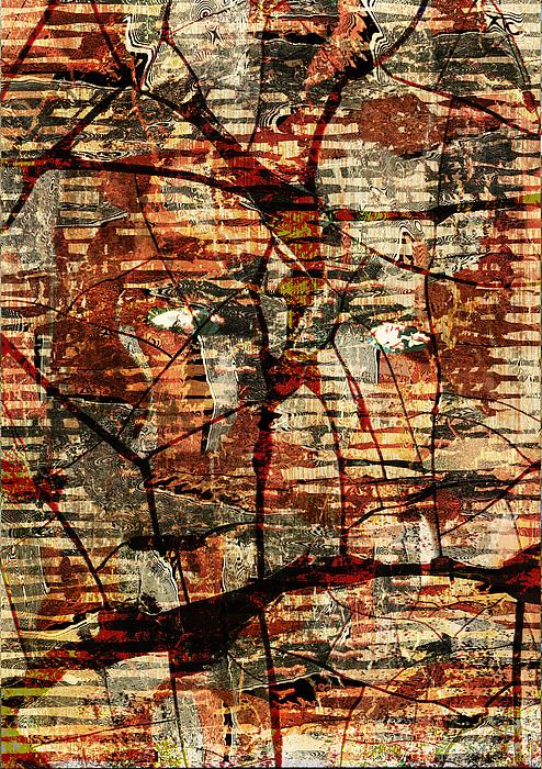 Woman Digital Art - Woman Deep In Meditation by Haruo Obana