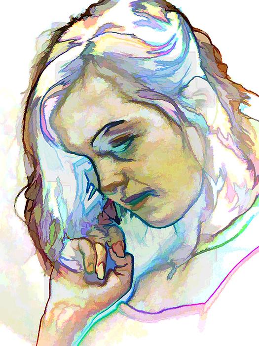 Woman Photograph - Women Body - Color Face2 by Robert Litewka