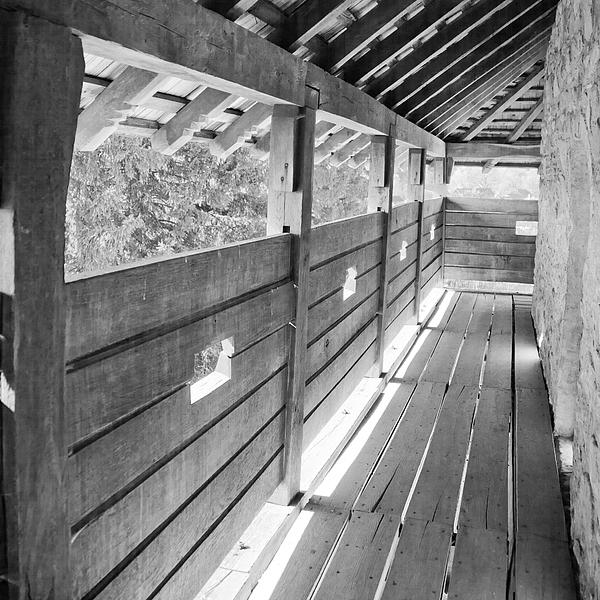 Balcony Photograph - Wooden Balcony by Gabriela Insuratelu