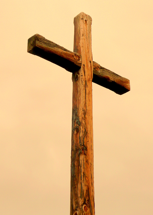 Cindy Photograph - Wooden Cross by Cindy Wright