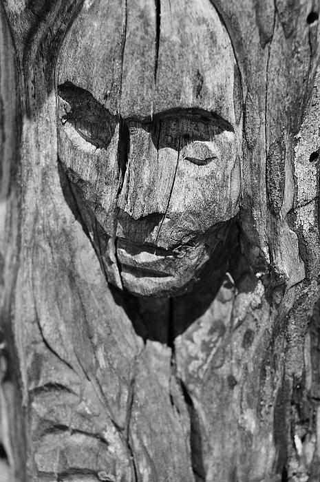 Wooden Woman Photograph by Daniel  Powell