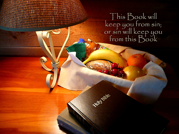 Cindy Photograph - Word Of God by Cindy Wright
