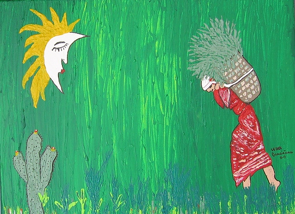 Work Painting by Maria tereza Braz