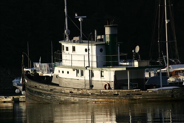 Boat Photograph - Workboat by Doug Johnson