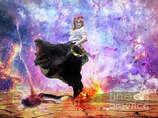 Worship Warrior Digital Art by Dolores Develde