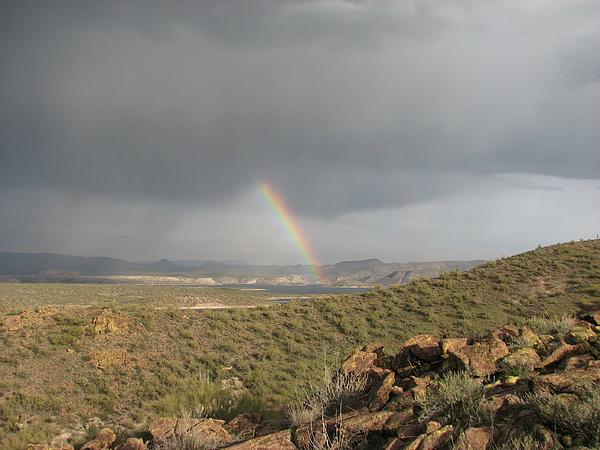 Rainbow Photograph - Worth The Climb by Jessica Boone