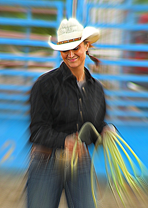 Cowgirl Photograph - Wrangler by Rick  Monyahan