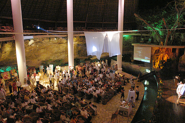 Xcaret Auction Photograph by Angel Ortiz