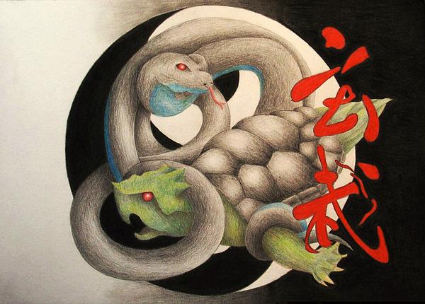 Xuan Drawing - Xuan Wu by Lauren Cawthron