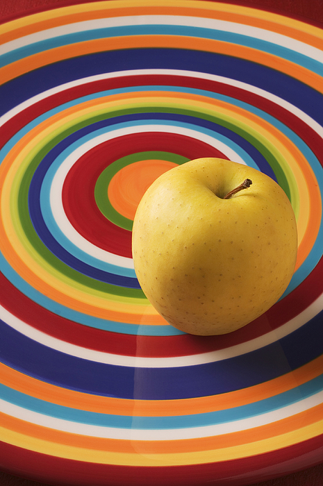 Apple Photograph - Yellow Apple  by Garry Gay
