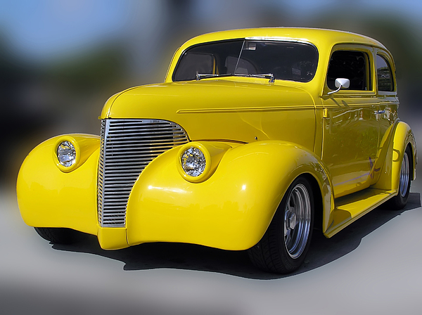 Yellow Classic Photograph by Chuck Cannova