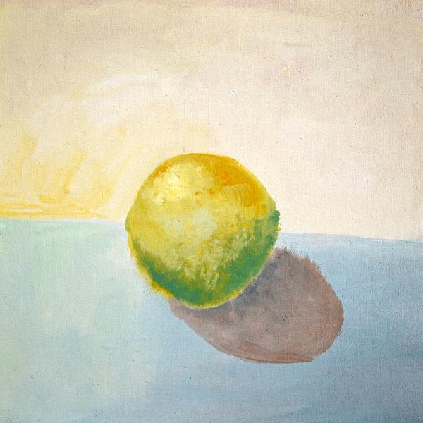 Lemon Painting - Yellow Lemon Still Life by Michelle Calkins