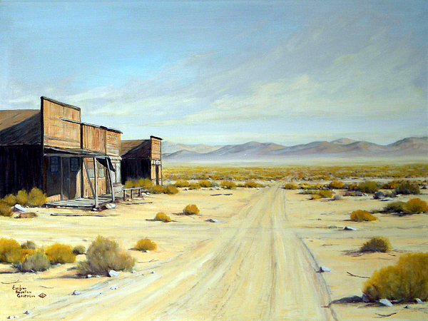 Desert Painting - Yesterdays Memories by Evelyne Boynton Grierson