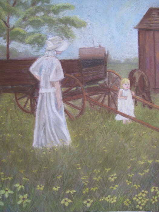 Painting Painting - Yesteryear by Gloria Byler