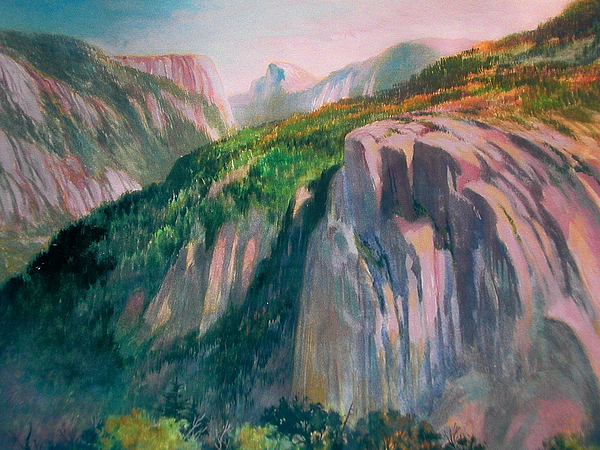 Yosemite Painting by Don Getz
