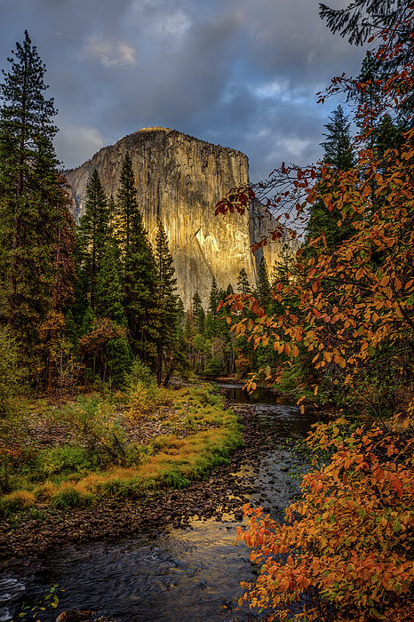 El Capitan Photograph - Yosemites El Capitan In The Fall by Jeff Sullivan