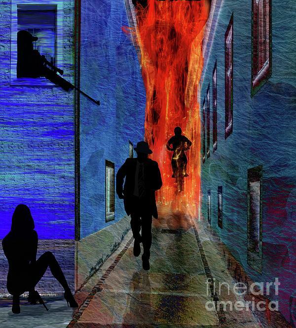 Spy Digital Art - Your Fired by Sydne Archambault